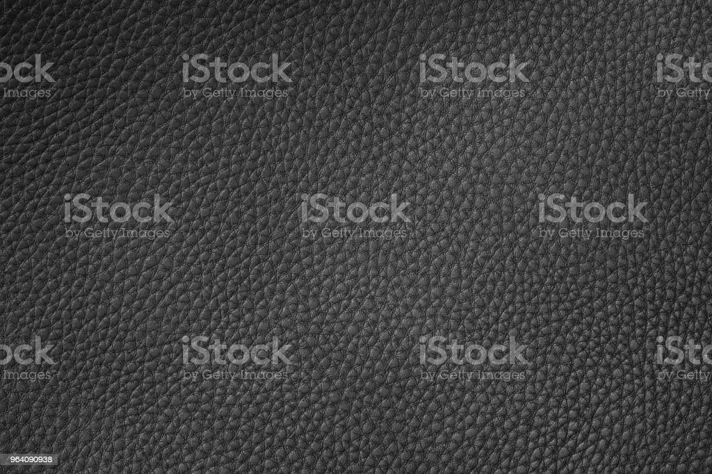 ブラックレザーの質感  - クローズアップのロイヤリティフリーストックフォト