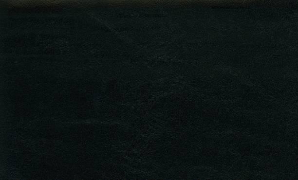 fundo preto da textura do leatherette - foto de acervo
