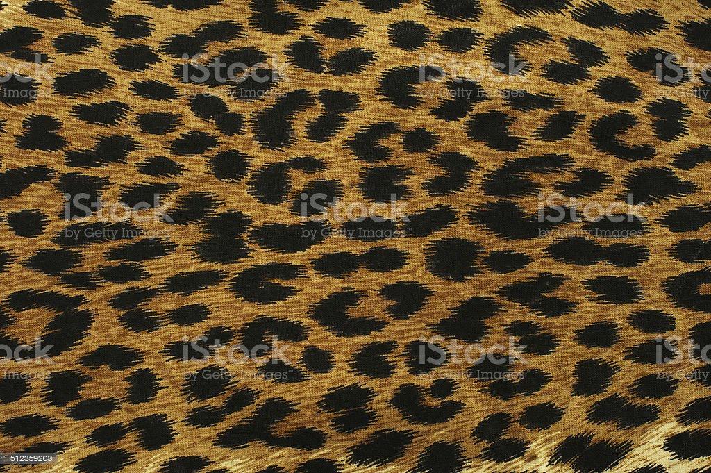 Black leopard spots stock photo