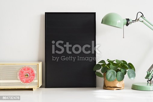 istock Black letter board 864732476