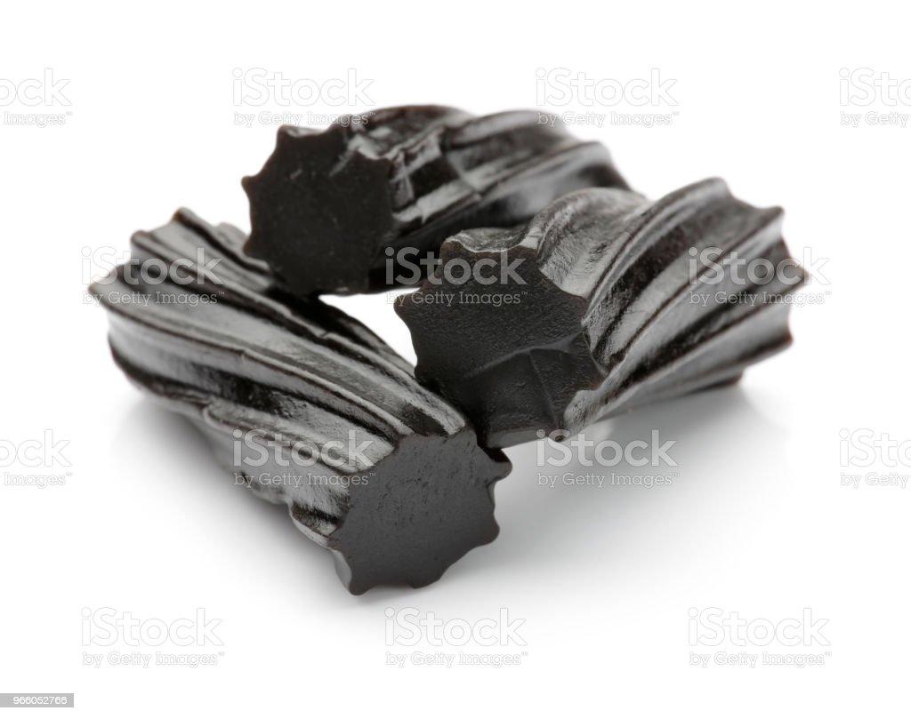 Black Licorice - Royalty-free Alcaçuz Foto de stock
