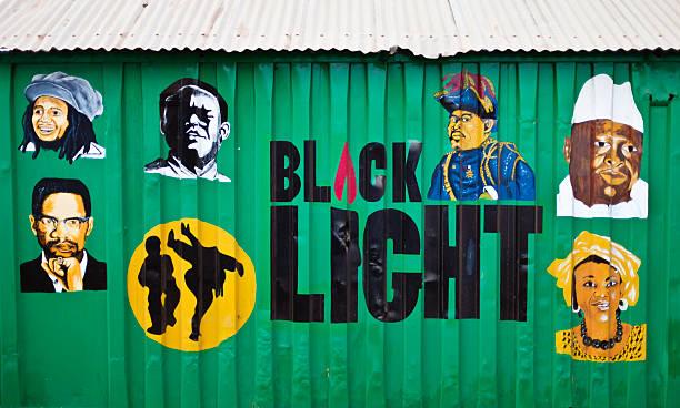 black light. - black power 個照片及圖片檔