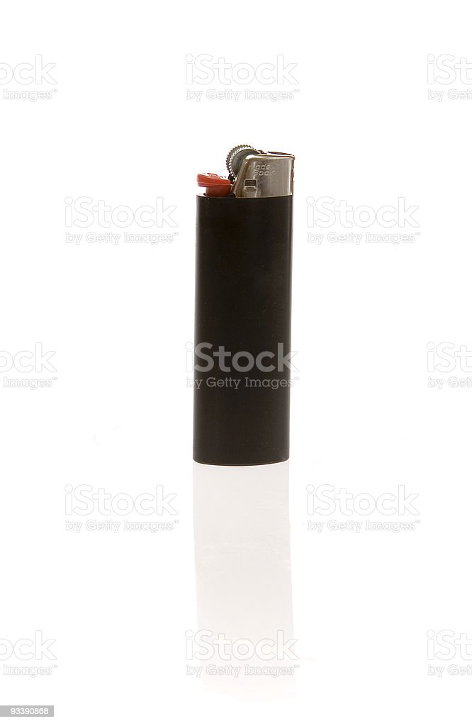 Black lighter royalty-free stock photo