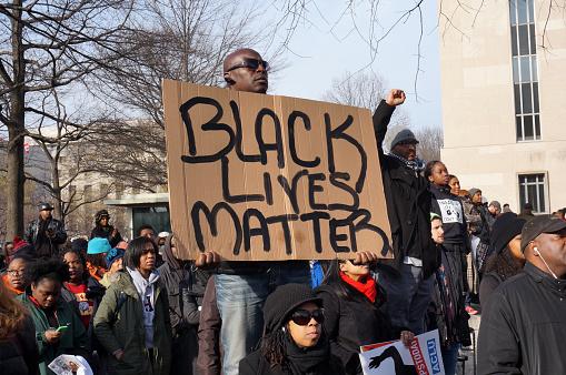 Black Lives Matter Stock Photo - Download Image Now
