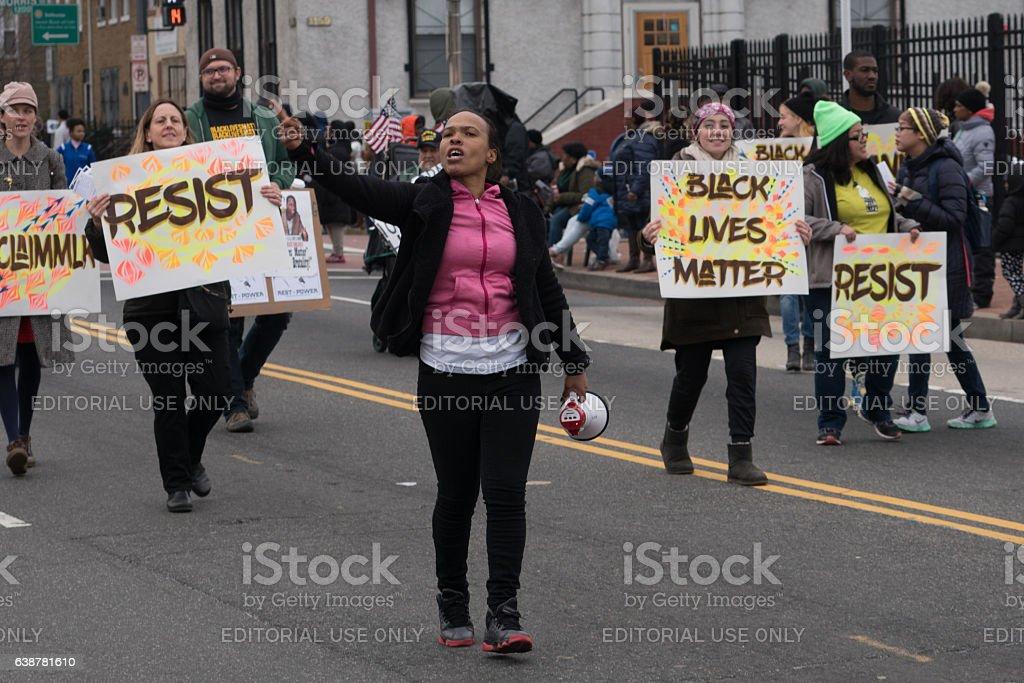 Black Lives Matter stock photo