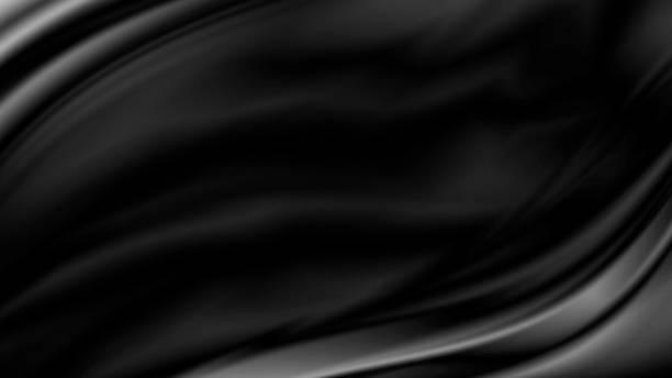 Schwarze Luxus Stoff Hintergrund mit Textfreiraum – Foto