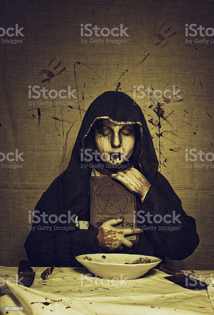Black magic stock photo