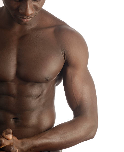 Best Young Nude Black Men Stock Photos, Pictures & Royalty