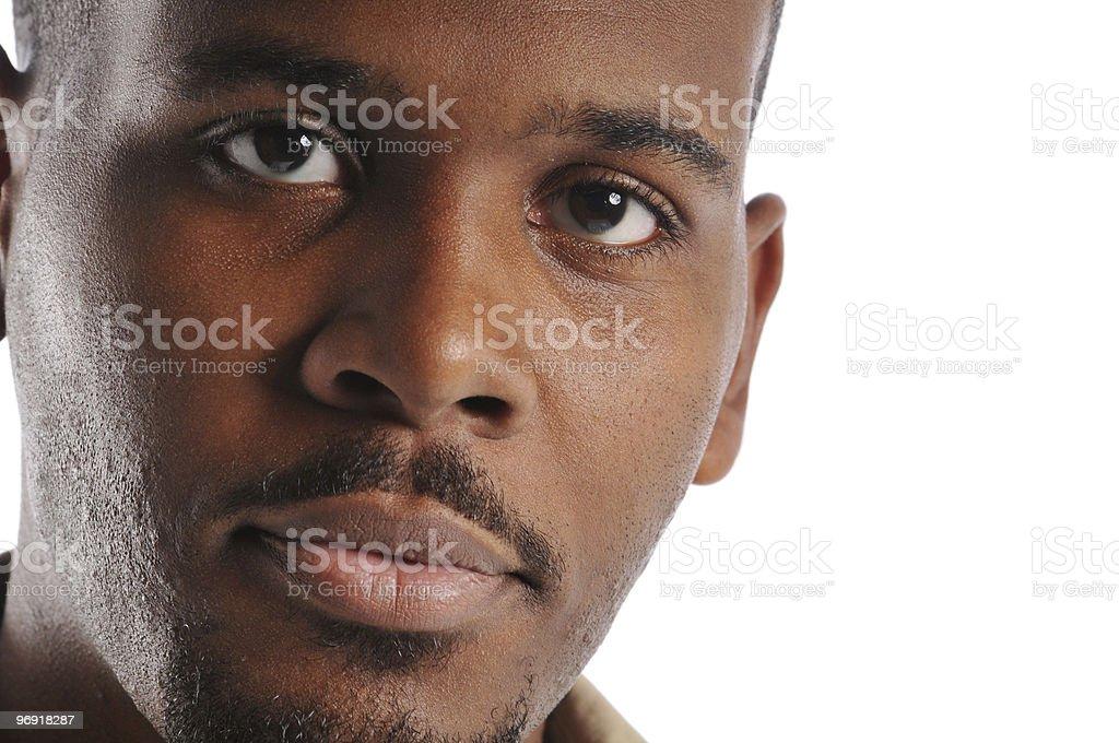 Black man's portrait royalty-free stock photo