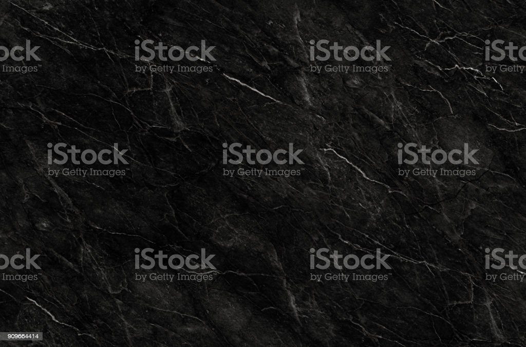 Schwarzer Marmor natürliche Muster für Granittextur, Hintergrund, abstrakt schwarz / weiß – Foto