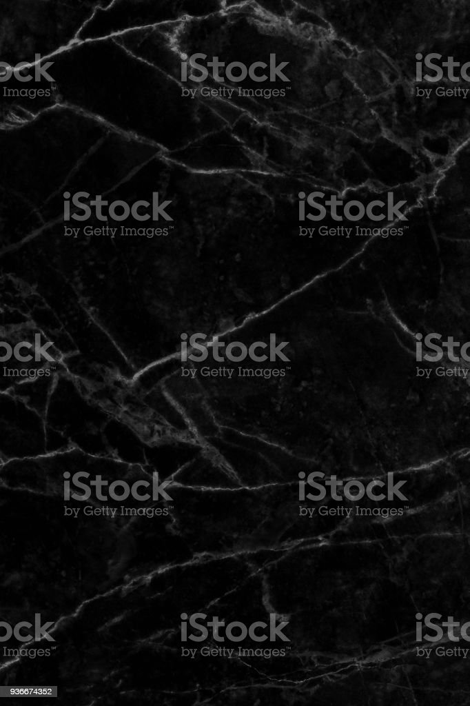Black marble natural pattern for background, abstract natural marble black and white stock photo