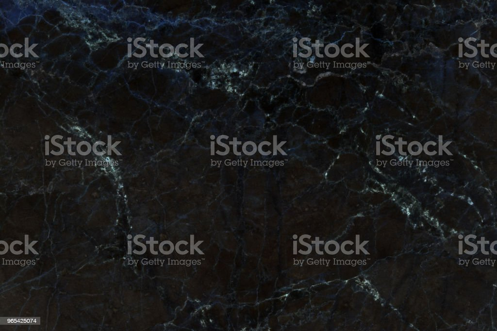 Black marble natural pattern for background, abstract natural marble black and white - Zbiór zdjęć royalty-free (Abstrakcja)