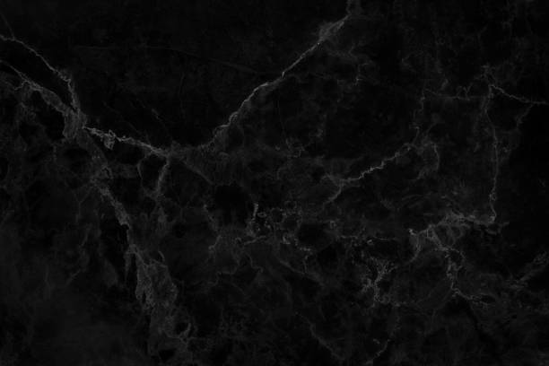 Black marble natural pattern for background stock photo