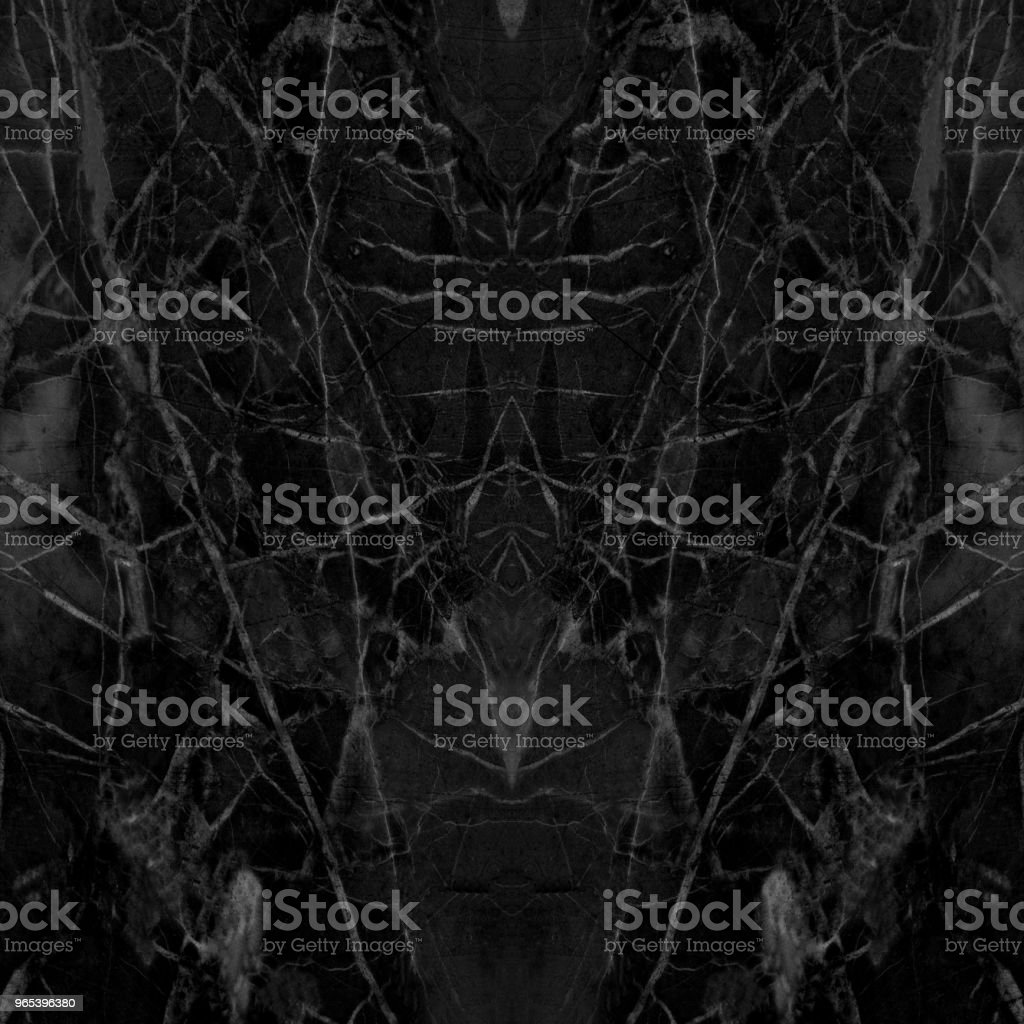 Black marble patterned texture background. abstract natural marble black and white for design. royalty-free stock photo