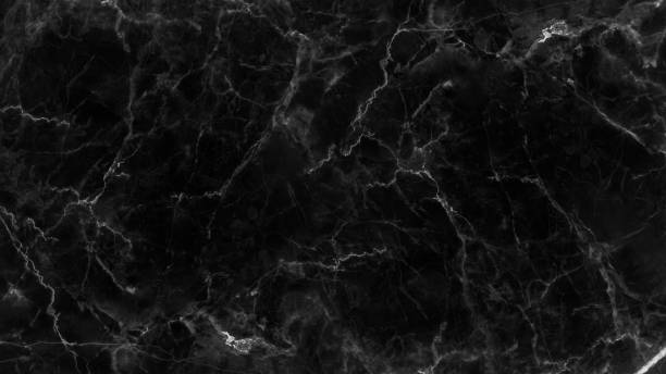 Black marble texture and background. Black marble texture and background for design pattern artwork. marbled effect stock pictures, royalty-free photos & images