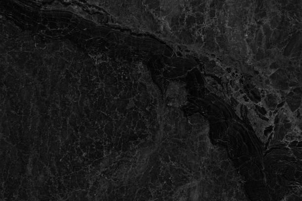 Fond de texture marbre noir. (Haute résolution). - Photo