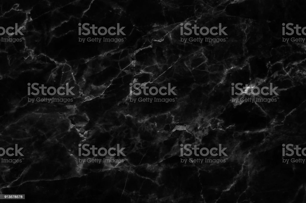 Black marble texture background. - foto stock