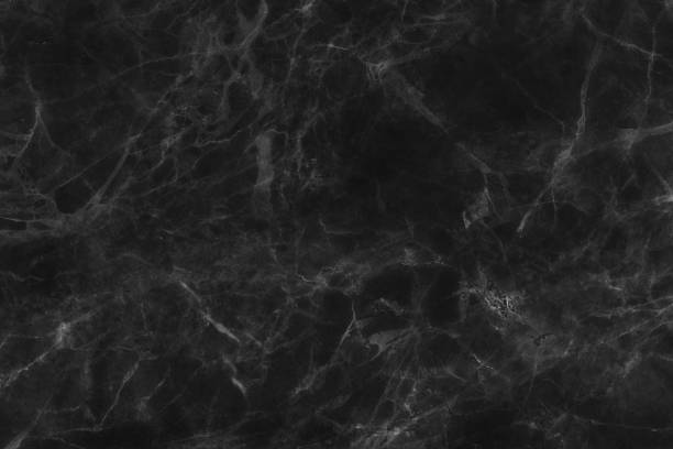 Black marble texture, detailed structure of marble for design. stock photo