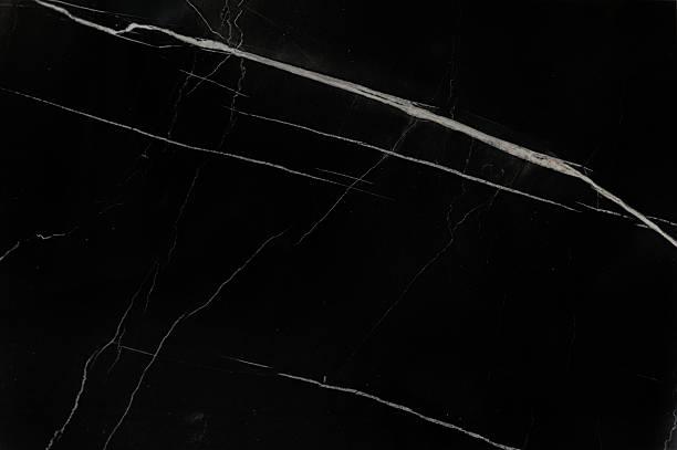 Schwarzer Marmor Struktur – Foto