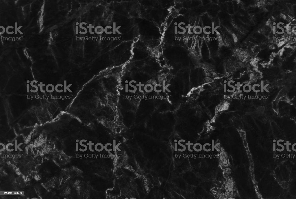 Textura de mármore preta com veias delicadas - foto de acervo