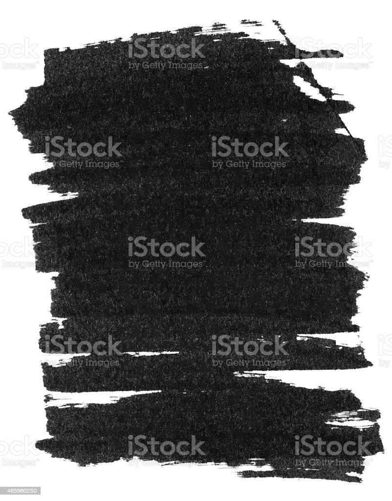 Black marker lines on white background stock photo