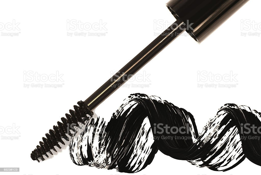 Black Mascara stock photo