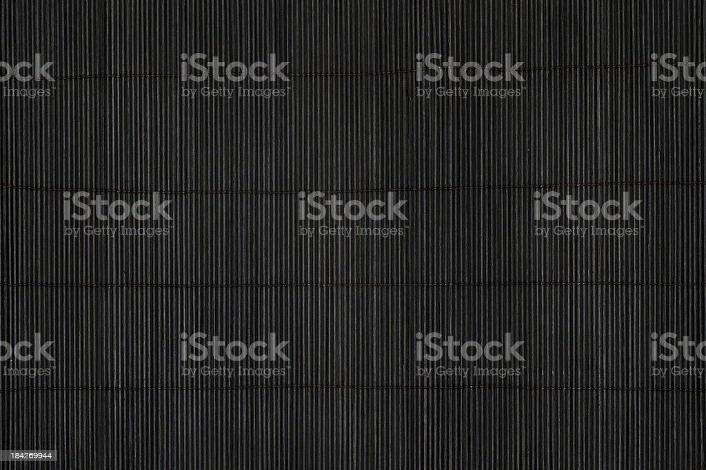 Black mat stock photo