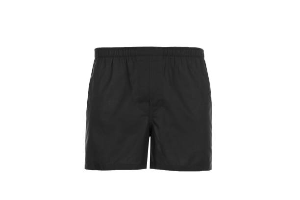 Black Men's shorts. Black Short pants in light color shorts stock pictures, royalty-free photos & images
