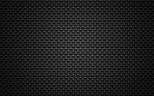 Black mesh background.