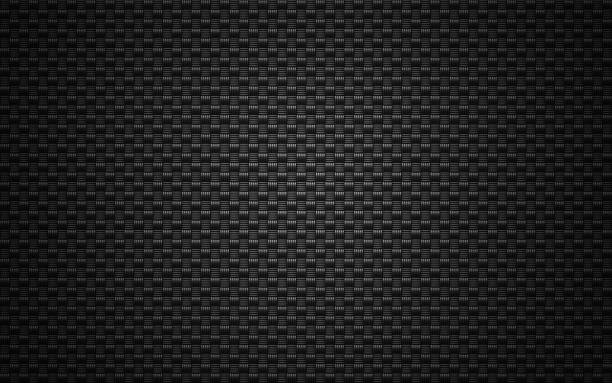 black mesh background. - mesh textile stock photos and pictures