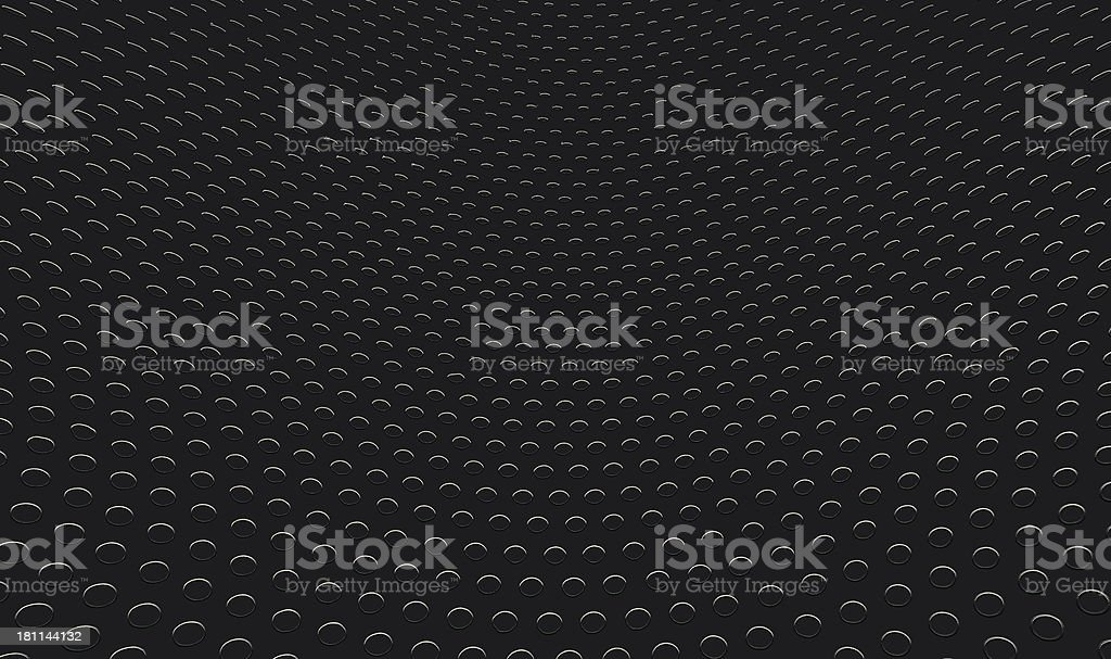 Black Metal Background royalty-free stock photo