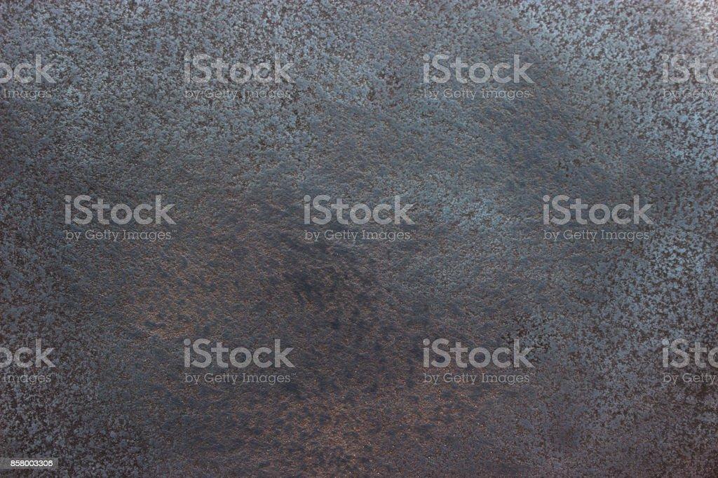 Schwarz Metall Hintergrund, glänzende Eisen Textur Nahaufnahme – Foto