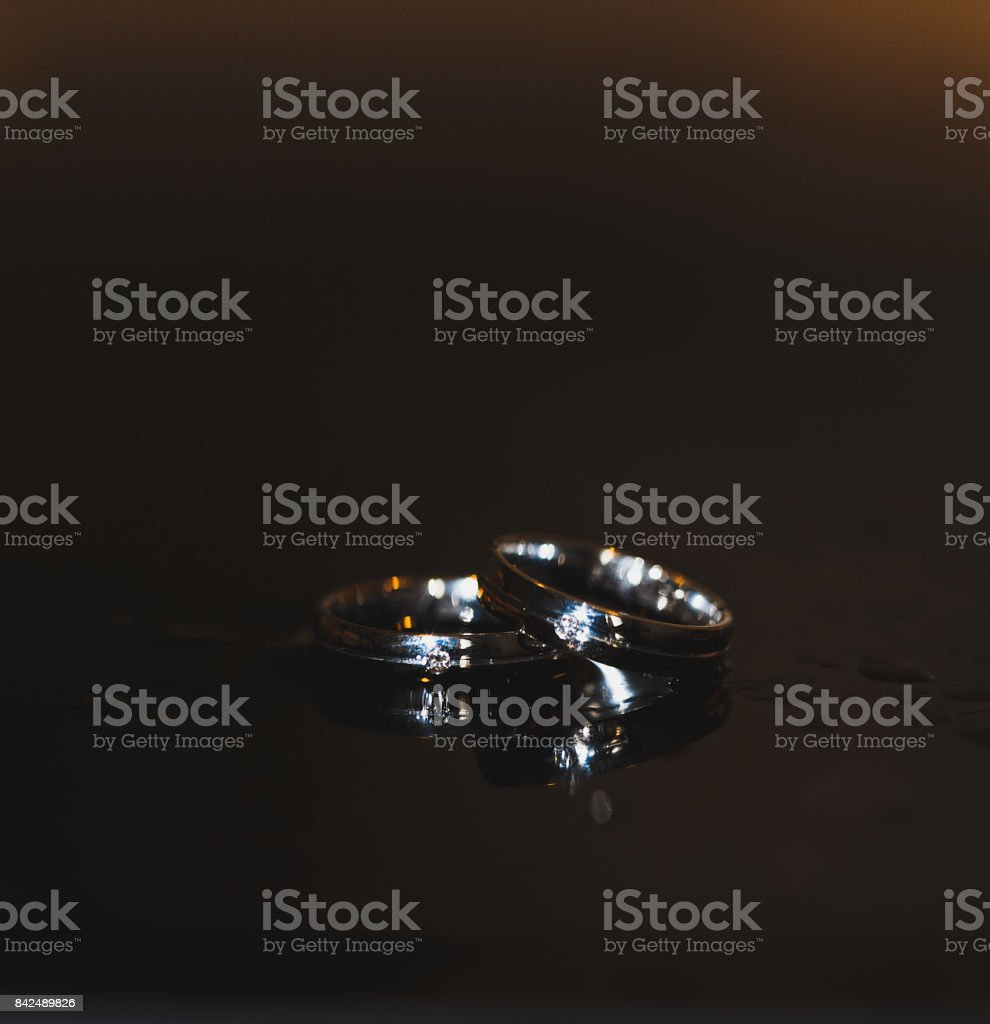 Black mirror stock photo