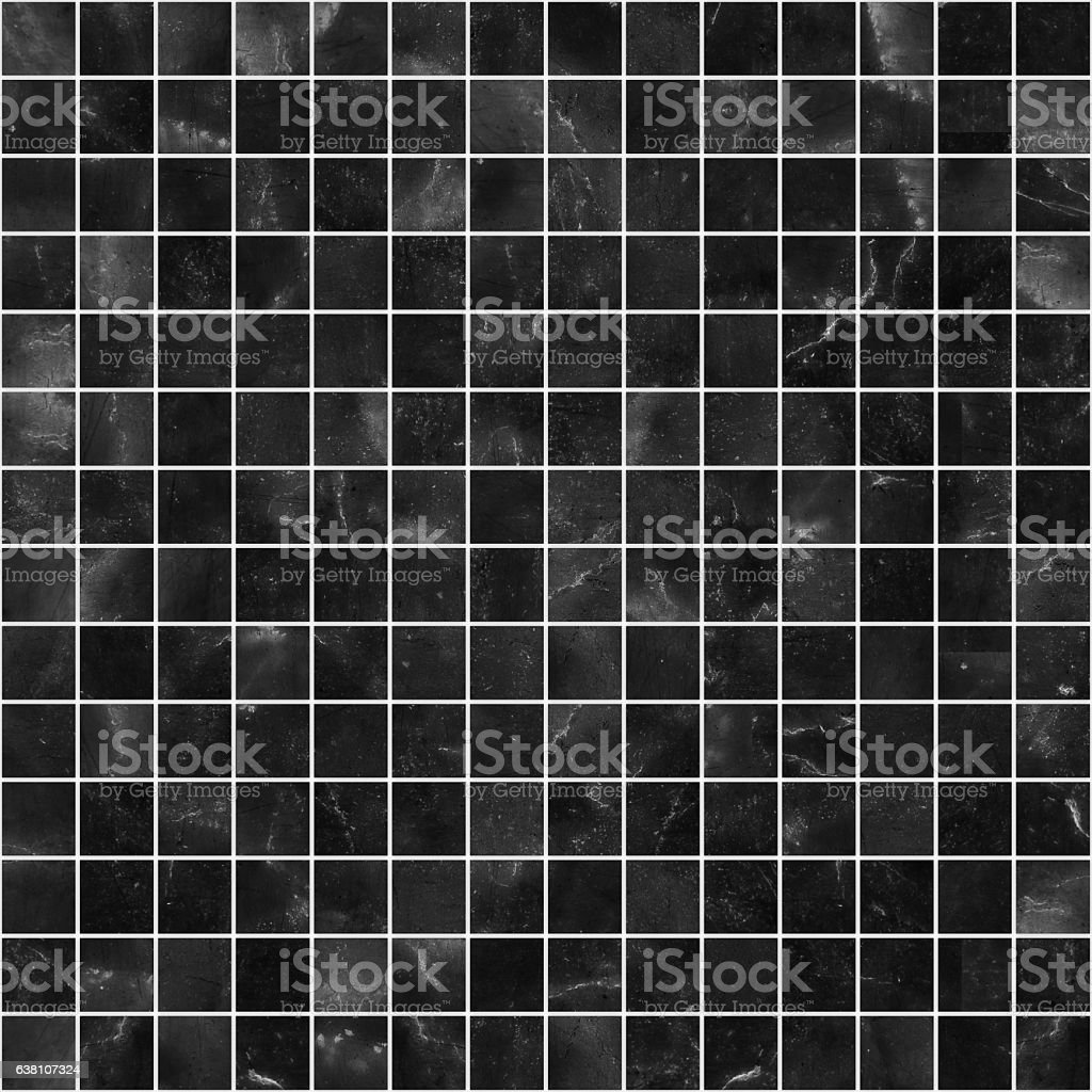 Black Mosaic Marble Tile Texture Seamless Stock Photo Download Image Now Istock