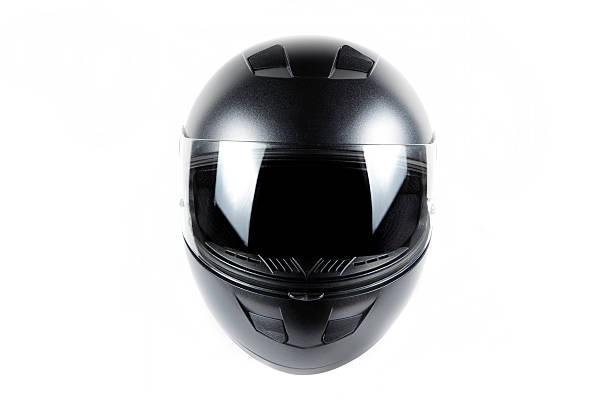 czarny motocykl kask - kask sportowy zdjęcia i obrazy z banku zdjęć