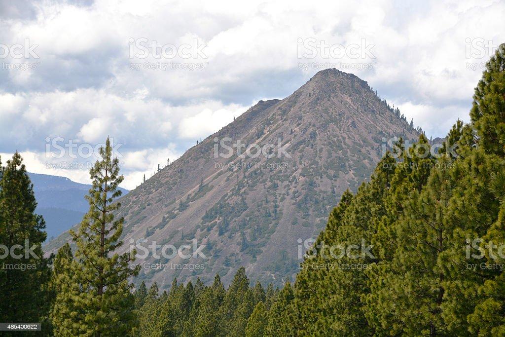 Black Mound California stock photo