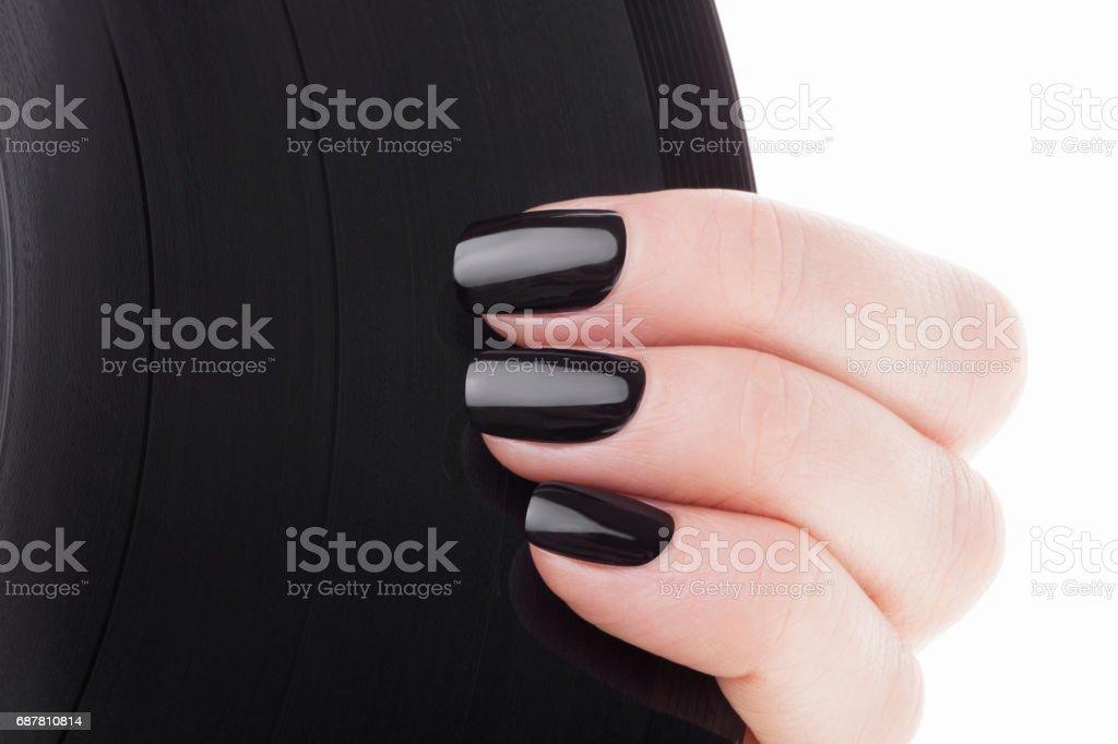 Uñas Negras Foto De Stock Y Más Banco De Imágenes De