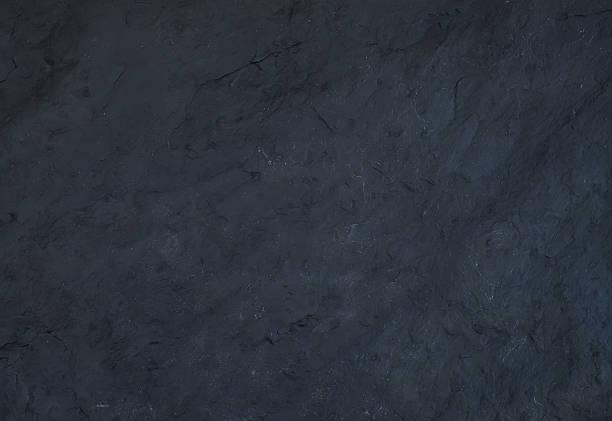 Ardoise noire une texture ou de fond - Photo