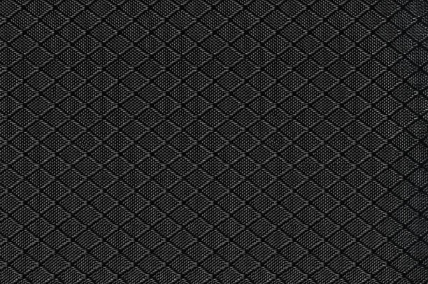 black nylon fabric background texture, large detailed textured horizontal macro - nylon texture stock pictures, royalty-free photos & images