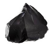 black obsidian mineral