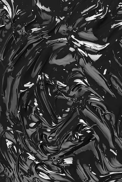 Black oil background stock photo