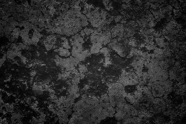 Black Old Concrete Background Concrete Texture rotting stock pictures, royalty-free photos & images