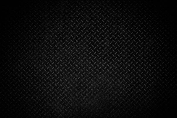 black old metal texture background - steel stock photos and pictures