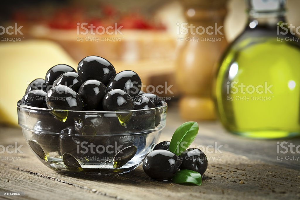 Black olives foto