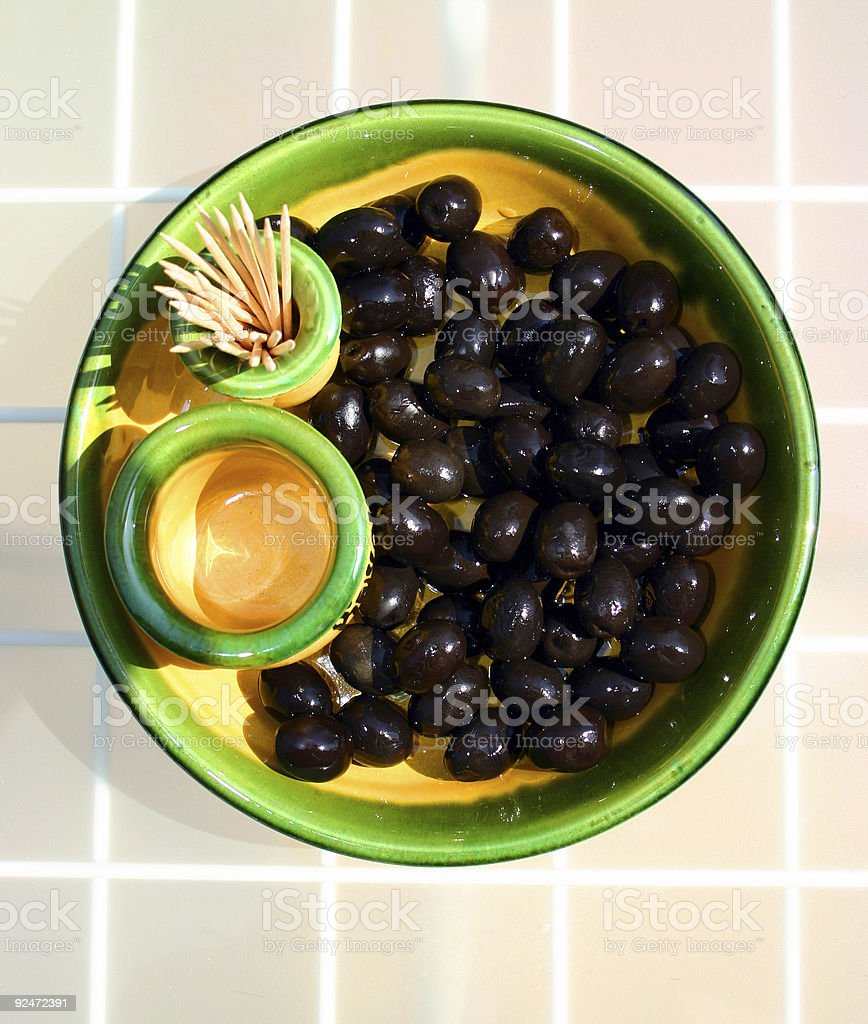 black olives royalty-free stock photo