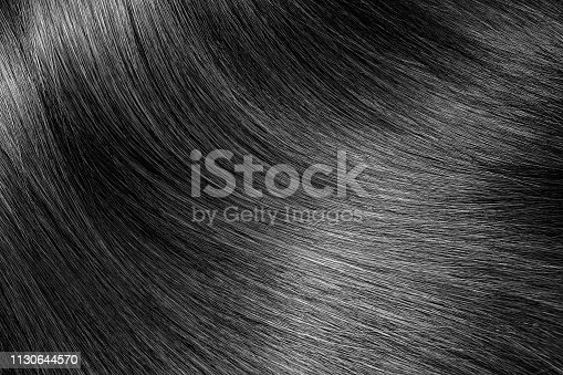 Black or brunette shiny hair texture background