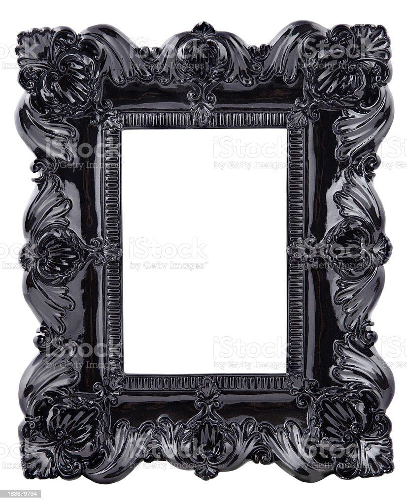 Black ornate picture frame stock photo more pictures of antique black ornate picture frame royalty free stock photo jeuxipadfo Images