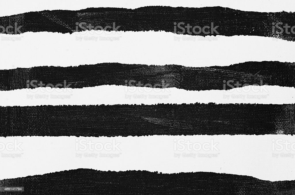 black painted striped background stock photo