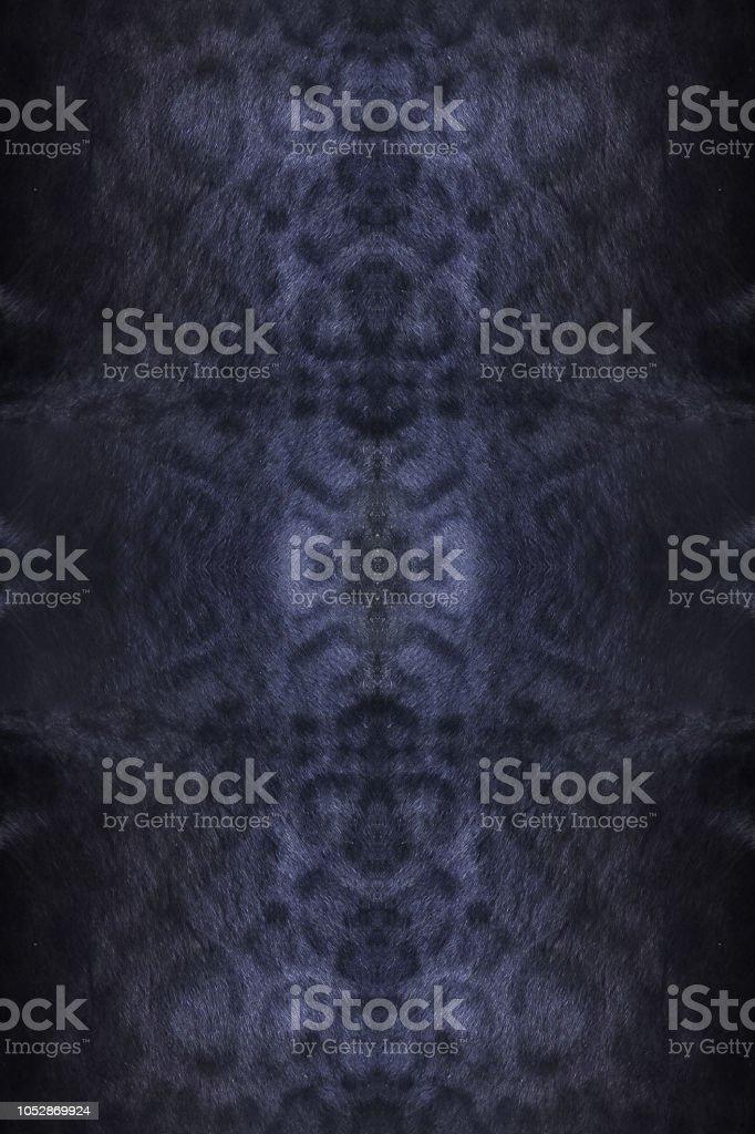Black panther hud textur och ull djurhudar bakgrund - Royaltyfri Abstrakt Bildbanksbilder
