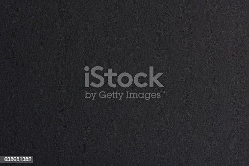 istock Black paper background 638681382